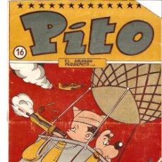 Tebeos: COMIC PITO Nº 16 EDITORIAL SIMBOLO. Lote 29900353