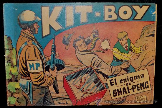Tebeos: antiguo comic Kit boy de ed. soriano. - Foto 1 - 30079210