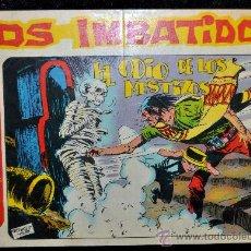 Tebeos: COMIC ANTIGUO LOS IMBATIDOS DE 1963, NUM 13. Lote 30079252