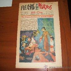 Tebeos: FLECHAS Y PELAYOS Nº 23 ORIGINAL 1939. Lote 30099307