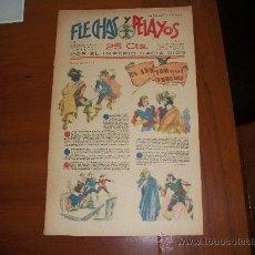 Tebeos: FLECHAS Y PELAYOS Nº 28 ORIGINAL 1939 . Lote 30100642
