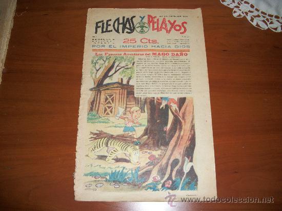 FLECHAS Y PELAYOS Nº 20 ORIGINAL 1939 (Tebeos y Comics - Tebeos Clásicos (Hasta 1.939))