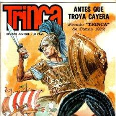 Tebeos: TRINCA - 1970 EDI. DONCEL - 12 CÓMICS EN MAGNÍFICO ESTADO, SIN CIRCULAR, VER TODAS LAS PORTADAS, . Lote 30151618