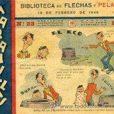 Tebeos: MARAVILLAS Nº23 (BIBLIOTECA DE FLECHAS Y PELAYOS) ORIGINAL 1940. Lote 30262037