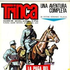 Tebeos: TRINCA - 1970 EDI. DONCEL - 17 CÓMICS EN MAGNÍFICO ESTADO, SIN CIRCULAR, VER TODAS LAS PORTADAS,. Lote 30280878