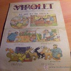 Tebeos: VIROLET Nº 423 ( 8 FEBRERO 1930 ) EN CATALA (VIR1). Lote 30501021