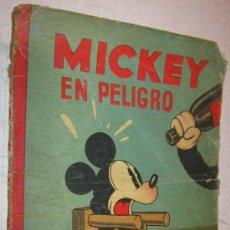 Tebeos: 1936 MICKEY EN PELIGRO DE WALT DISNEY Y SATURNINO CALLEJA. Lote 30786223