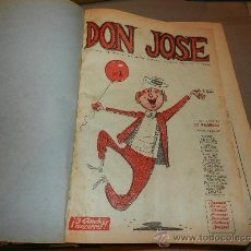 Tebeos: (M-3-9) DON JOSE SEMANARIO DE HUMOR DEL DIARIO ESPAÑA ( TANGER ) MINGOTE DEL NUM 1 AL 128. Lote 30924314