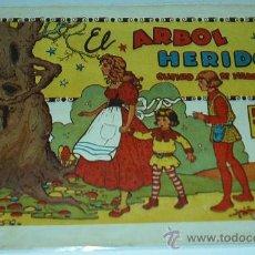 Tebeos: EL ARBOL HERIDO, - ORIGINAL DE 0,50 -GERPLA AÑOS 40. Lote 31010244