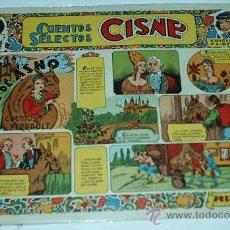 Tebeos: CISNE - CUENTOS SELECTOS, Nº 14- ORIGINAL -CLIPER 1955- LEER TODO. Lote 31010291