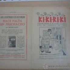 Tebeos: PUBLICITARIO DE EL HOGAR Y LA MODA. KI-KI-KI-KI Nº 20 Y 79 DE OTRO FORMATO, AÑOS 20. Lote 31073926