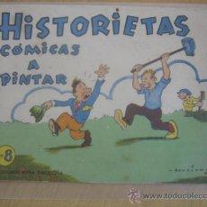 Tebeos: ROMA HISTORIETAS COMICAS A PINTAR Nº 8 BENOJAN. Lote 31074461