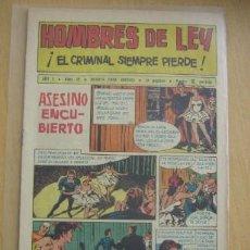 Tebeos: CREO HOMBRES DE LEY Nº 19, . Lote 31141332