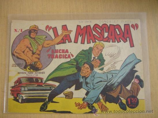 CREO JIM DALE LA MASCARA Nº 1 (Tebeos y Comics - Tebeos Otras Editoriales Clásicas)