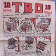 Tebeos: T.B.O. Nº 251 1ª EPOCA AÑOS 20. Lote 31206112