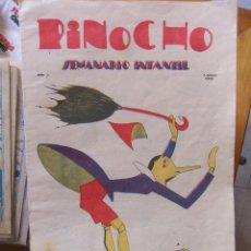 Tebeos: PINOCHO Nº 7 SEMANARIO INFANTIL 5 DE ABRIL DE 1925 . Lote 31207185