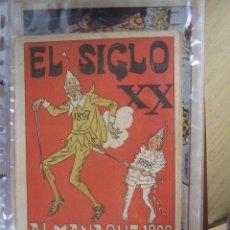 Tebeos: SIGLO XX ALMANAQUE DE 1898. Lote 31314539