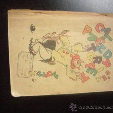 Tebeos: CALENDARI D'EN PATUFET. 1932 ILUSTR.: LLAVERIAS, JUNCEDA, CORNET, MORENO, MALLOL, BECQU .C29 EAC. Lote 31531597
