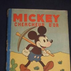 Tebeos: MICKEY - CHERCHEUR D'OR - HACHETTE - WALT DISNEY - AÑO 1931 -. Lote 31411666