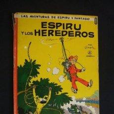 Tebeos: LAS AVENTURAS DE ESPIRU Y FANTASIO - Nº 0 - ESPIRU Y LOS HEREDEROS - JAIMES LIBROS - . Lote 31705614