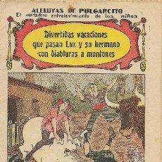 Tebeos: ALELUYA DE PULGARCITO (DIVERTIDAS VACACIONES…). Lote 31736688