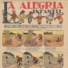 Tebeos: LA ALEGRÍA INFANTIL (NÚMERO 4 – 10 CTS.). Lote 31736757