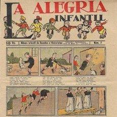 Tebeos: LA ALEGRÍA INFANTIL (NÚMERO 7 – 10 CTS.). Lote 31736786