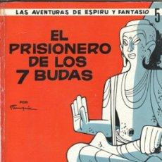 Tebeos: LAS AVENTURAS DE SPIROU Y FANTASIO, JAIMES LIBROS Nº 5 - EL PRISIONERO DE LOS 7 BUDAS -. Lote 31934140