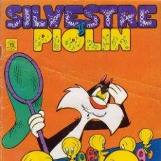 Tebeos: SILVESTRE Y PIOLIN. Nº 2. EDICIONES ZINCO. AÑO 1987.. Lote 32028117