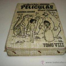 Tebeos: TOMO VIII DE COLECCIÓN JOVIAL PELÍCULAS DE WALT DISNEY 2ª ED. EN SU FUNDA ORIGINAL DE CARTÓN (1969). Lote 32206277