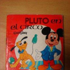 Tebeos: MINI CUENTO PLUTO EN EL CIRCO WALT DISNEY SUSAETA 1973 . Lote 32301781