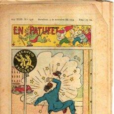 Tebeos: EN PATUFET. Nº 1596. 1934.. Lote 32569263