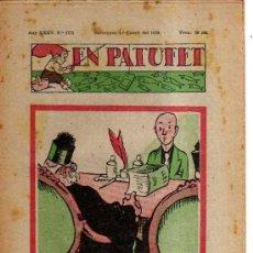 Tebeos: EN PATUFET. Nº 1771. 1938.. Lote 32569345