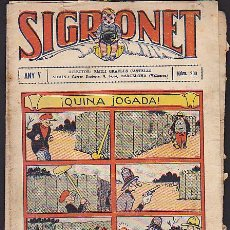 Tebeos: COMIC SIGRONET Nº 203. Lote 33076378