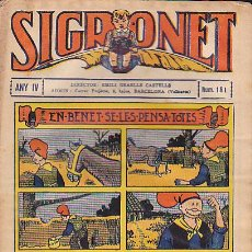 Tebeos: COMIC SIGRONET Nº 181. Lote 33076386