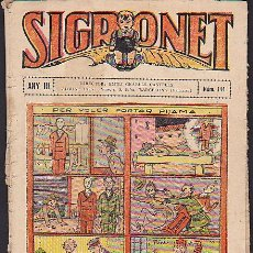 Tebeos: COMIC SIGRONET Nº 144. Lote 33076403