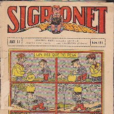 Tebeos: COMIC SIGRONET Nº 151. Lote 33076419