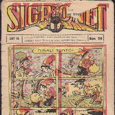 Tebeos: COMIC SIGRONET Nº 156. Lote 33076427
