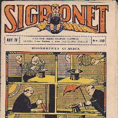 Tebeos: COMIC SIGRONET Nº 180. Lote 33076448
