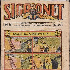 Tebeos: COMIC SIGRONET Nº 194. Lote 33076456