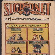 Tebeos: COMIC SIGRONET Nº 196. Lote 33076467