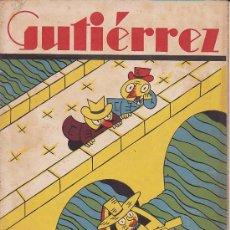 Tebeos: COMIC SEMANARIO GUTIERREZ Nº 78. Lote 33076946