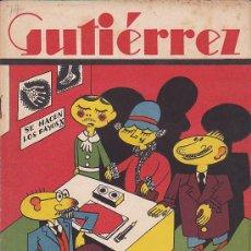 Tebeos: COMIC SEMANARIO GUTIERREZ Nº 77. Lote 33076951