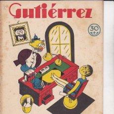Tebeos: COMIC SEMANARIO GUTIERREZ Nº 70. Lote 33076986