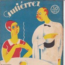 Tebeos: COMIC SEMANARIO GUTIERREZ Nº 57. Lote 33077066