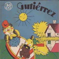 Tebeos: COMIC SEMANARIO GUTIERREZ Nº 44. Lote 33077147