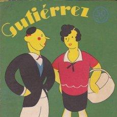 Tebeos: COMIC SEMANARIO GUTIERREZ Nº 43. Lote 33077154