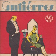 Tebeos: COMIC SEMANARIO GUTIERREZ Nº 36. Lote 33077209