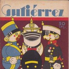 Tebeos: COMIC SEMANARIO GUTIERREZ Nº 11. Lote 33077473