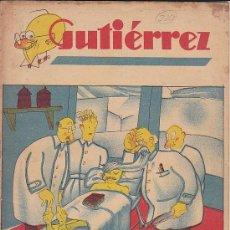 Tebeos: COMIC SEMANARIO GUTIERREZ Nº 220. Lote 33077546